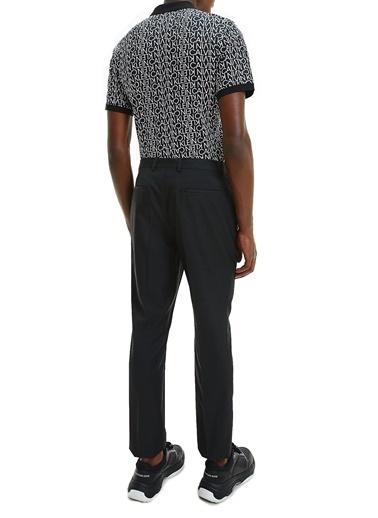 Calvin Klein  % 100 Pamuklu Regular Fit Polo T Shirt Erkek Polo K10K107266 Beh Siyah